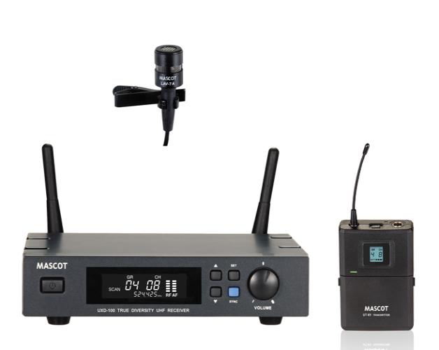UXD-100 / UT-61 Lavalier System