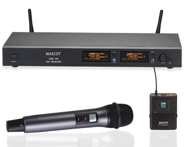 UXM-200 Dual Channel System