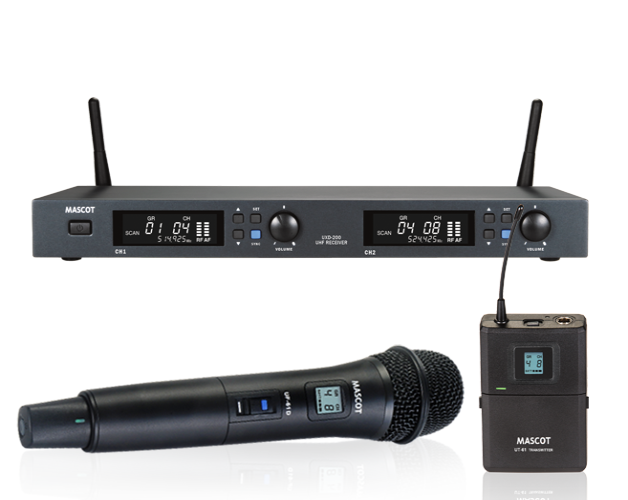 UXD-200 Dual Channel System